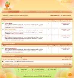 Разработка дизайна форума и последующая его HTML верстка для форума на CMS PunBB сайта о графике Morowka