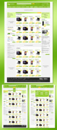 Дизайн логотипа и сайта для онлайн-магазина бытовой техники Эпицентр