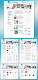 Веб-дизайн интернет-магазина IndexEventus