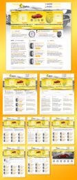 Разработка сайта под ключ на CMS RAwebPRO для онлайн-магазина автомобильных шин и дисков Парад колес