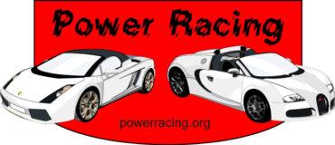 Векторная иллюстрация Power Racing