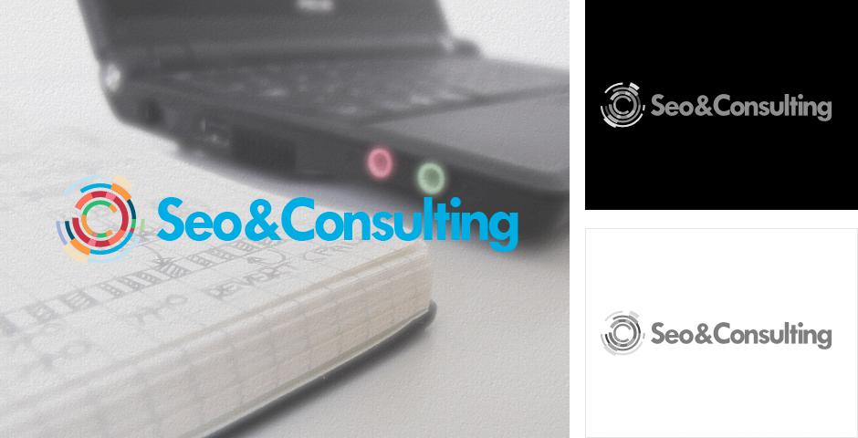Дизайн логотипа компании Seo&Consulting