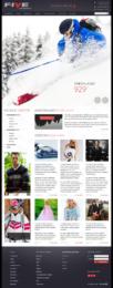 Веб Дизайн для Онлайн Магазина Одежды FIVESEASONS
