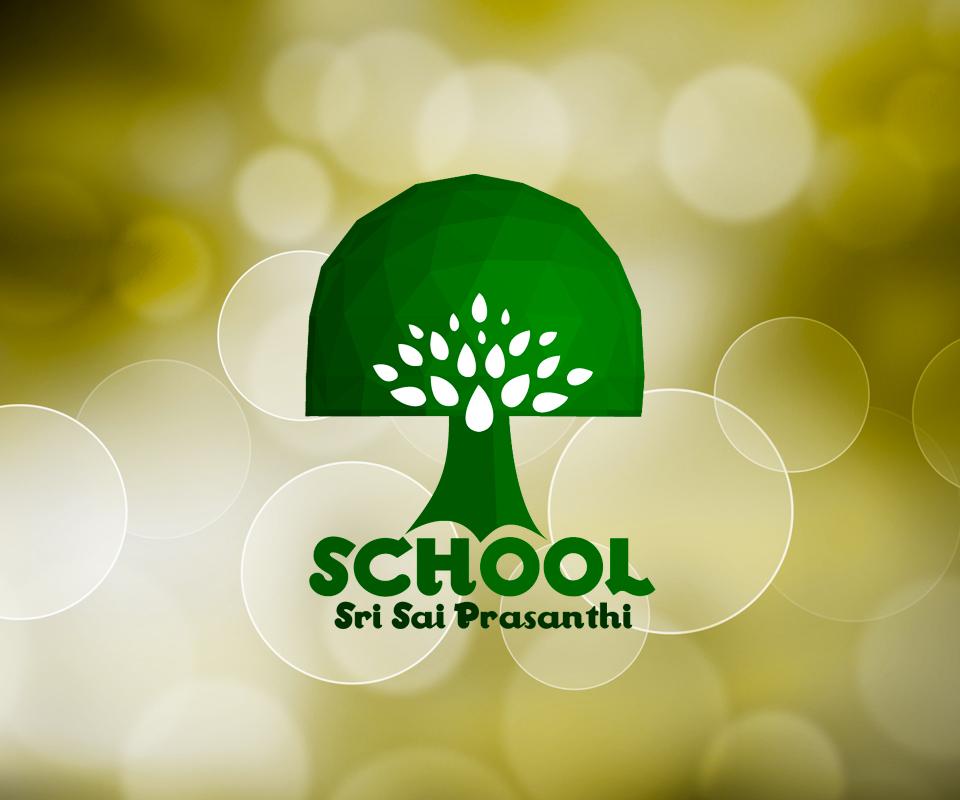 Разработка логотипа для индийской школы Sri Sai Prasanthi