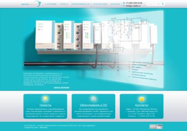 Сайт под ключ на CMS Joomla! для компании Оптиматик