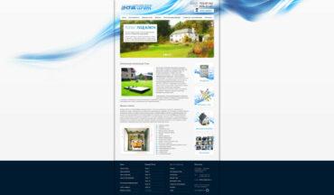 Дизайн сайта компании СтокСервис