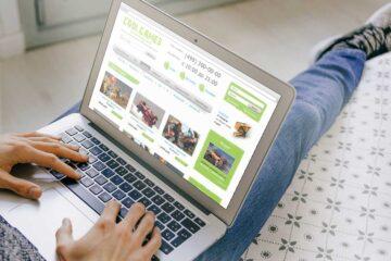 CoolGames — чистый и светлый PSD шаблон онлайн-магазина компьютерных игр